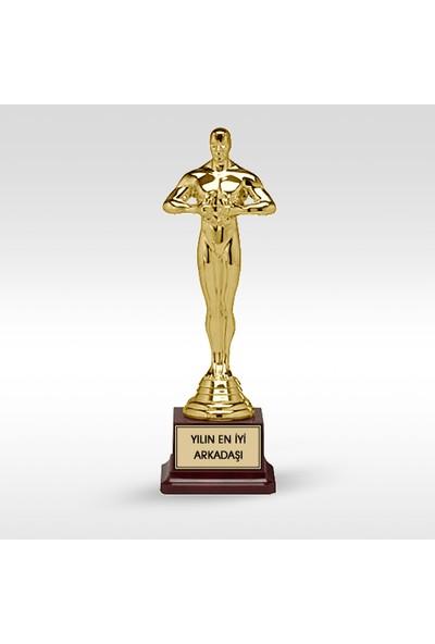 E-Hediyeci Kişiye Özel Plastik Ayaklı Oscar Ödülü (27 Cm.)