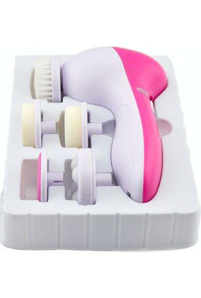 Ymr Cilt Temizleme Aleti (Yüz, Makyaj Temizleme Fırçası 5 başlıklı)