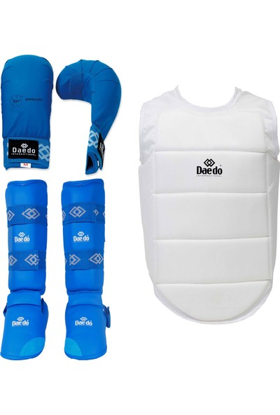Daedo Karate Koruyucu Set Mavi