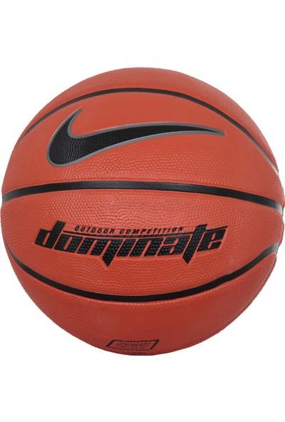Nike Dominate Basketbol Topu No 6 Turuncu-Siyah
