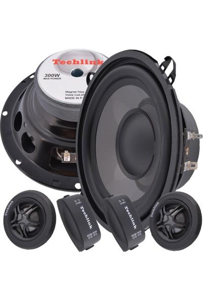 Techlink TE-610 16 cm 300 Watt Mid Oto Hoparlör