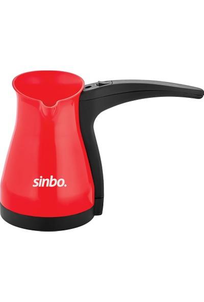 Sinbo SCM-2942 Elektrikli Kahve Makinesi - Kırmızı
