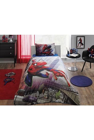 Taç Lisanslı Brf Nevresim Takımı Spiderman Action