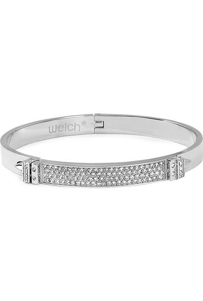 Welch 6538-CC458 Kadın Çelik Bileklik