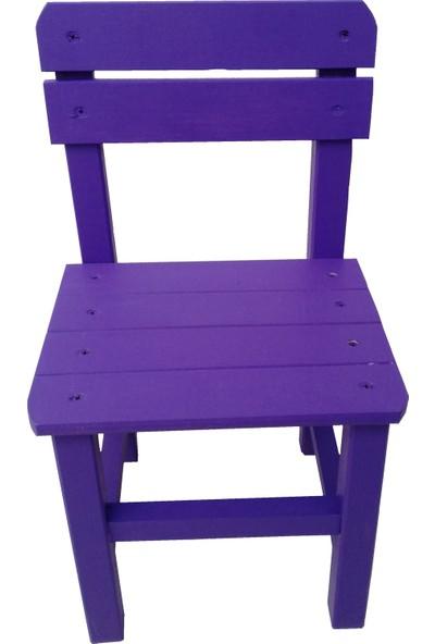 Baskaya Ahşap ,Renkli Çocuk Sandalyesi Ev Ve Ana Okullarına Kreş Lere Uygun