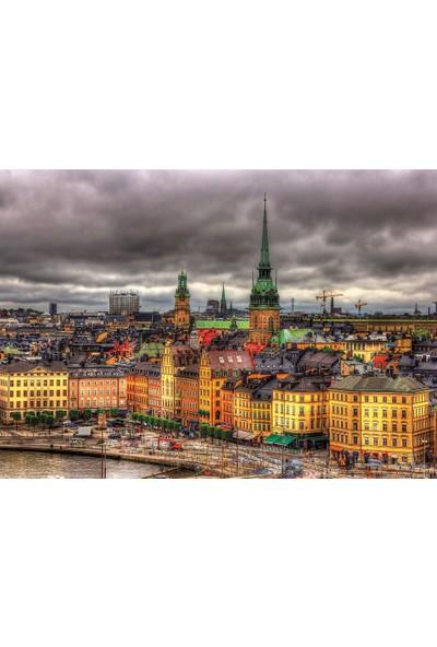 Educa Puzzle 1000 Parça Stockholm İsveç Manzaları 17664