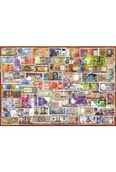 Educa Puzzle 1000 Parça Dünya Banknotlar 17659