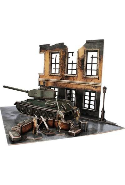 CubicFun 3D Puzzle Soviet T3485 Dioroma Set JS4202H