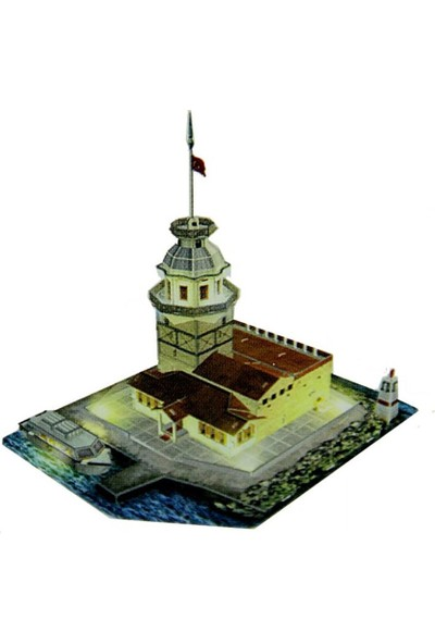 CubicFun 3D Puzzle Kız Kulesi L181H