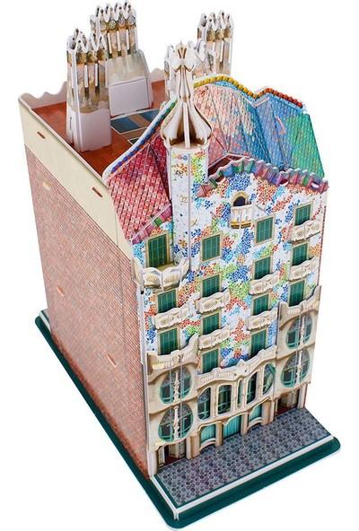 CubicFun 3D Puzzle Casa Batllo Binası C240H