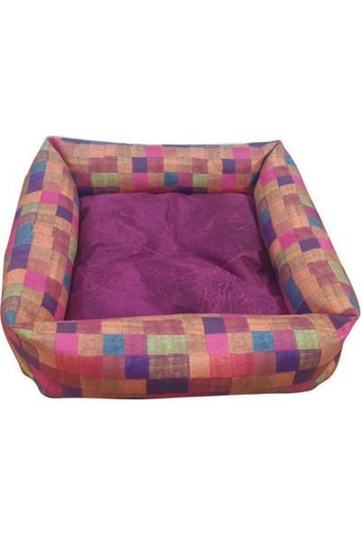 Mrs.Pillow Meta 8 Desenli Kedi Ve Köpek Yatakları 45X45Cm