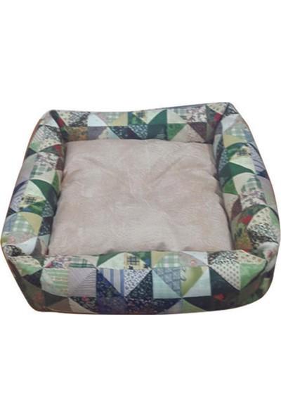 Mrs.Pillow Meta 7 Desenli Kedi Ve Köpek Yatakları 45X45Cm