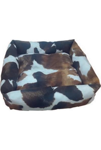 Mrs.Pillow Leather 15 Desenli Kedi Ve Köpek Yatağı