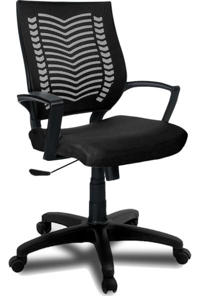 Büromotto Show Ofis Koltuğu, Bilgisayar ve Çalışma Sandalyesi - Siyah