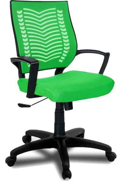 Büromotto Show Ofis Koltuğu, Bilgisayar ve Çalışma Sandalyesi - Yeşil