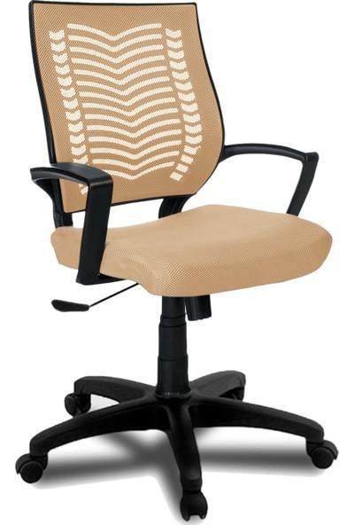Büromotto Show Ofis Koltuğu, Bilgisayar ve Çalışma Sandalyesi - Krem