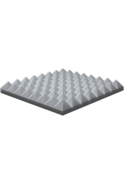 Centera Coustic Akustik Basotect Piramit Sünger 5 cm Gri Renk 50 x 50 cm