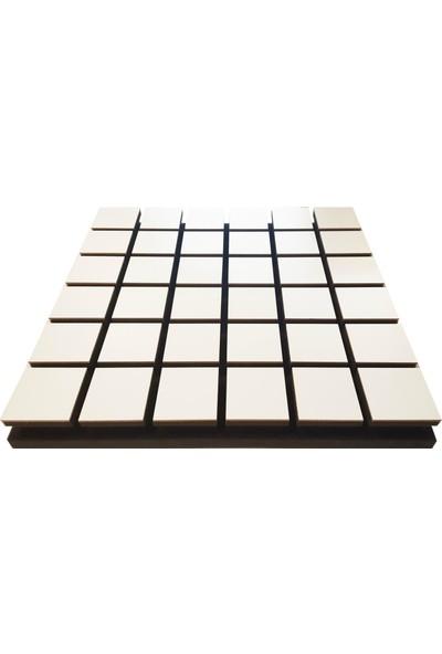 Centera Coustic Akustik Kare Sünger 5 cm Beyaz 49 x 49 cm