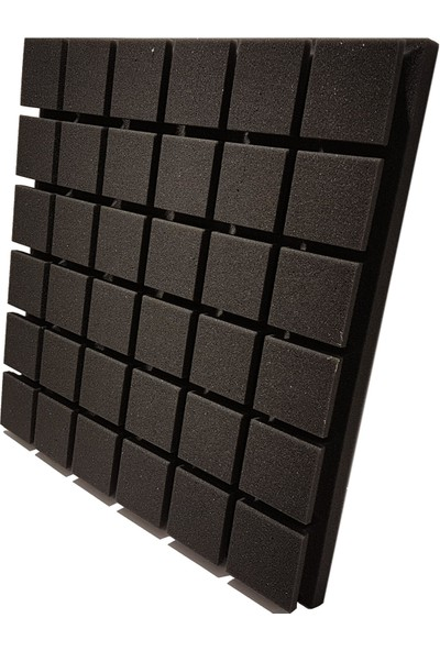 Centera Coustic Akustik Kare Sünger 5 cm Siyah 49 x 49 cm