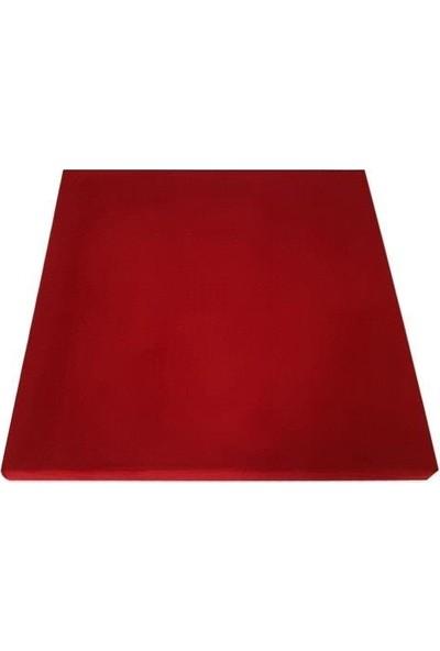 Centera Coustic Kumaş Kaplı Akustik Sünger Panel 4 cm Kırmızı 60 x 60 cm