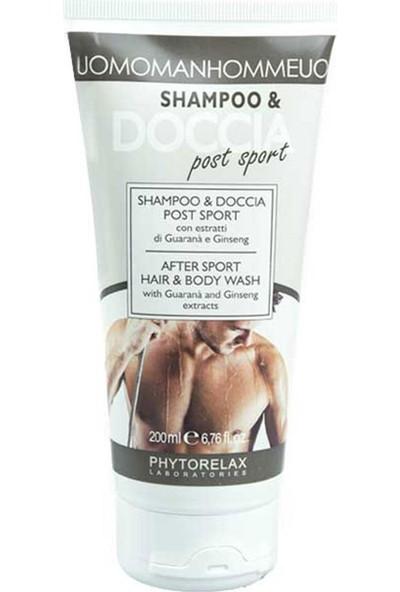 Phytorelax Uomo After Sport Hair & Body Wash 200 Ml