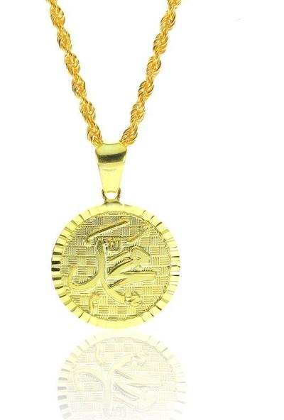 Söğütlü Silver Allah Muhammed Kolye Sgtl6988