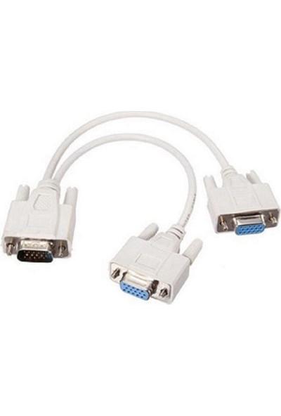 Bst Vga Y Splitter Çoklayıcı Switch Kablosu