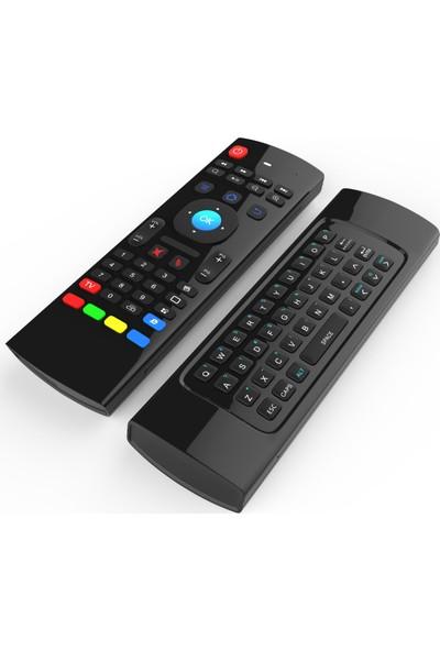 Wechip MXIII 2.4G Kablosuz Uzaktan Kumanda Air Mouse