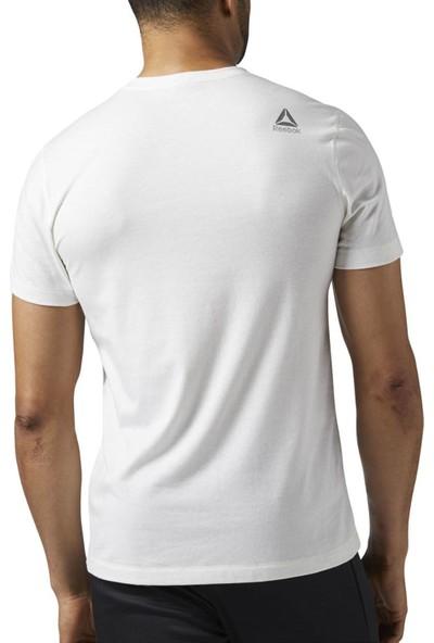 Reebok Beyaz Erkek T-Shirt BQ3496