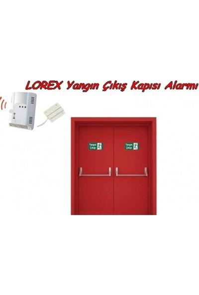 LOREX LR-FCE Yangın Çıkış Kapısı Alarm Sistemi