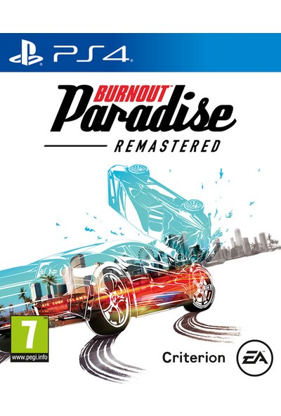 Burnout Paradise Remastered PS4 Oyun