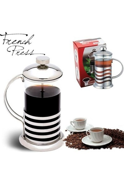 İkbalHome French Press Bitki Çayı Ve Kahve Demliği