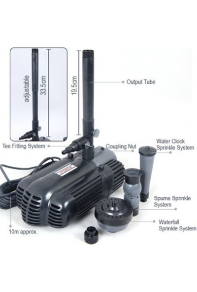 İmpo Water Sound PFP50-2000 Süs Havuzu Fıskiye Pompası 50 Watt 220v
