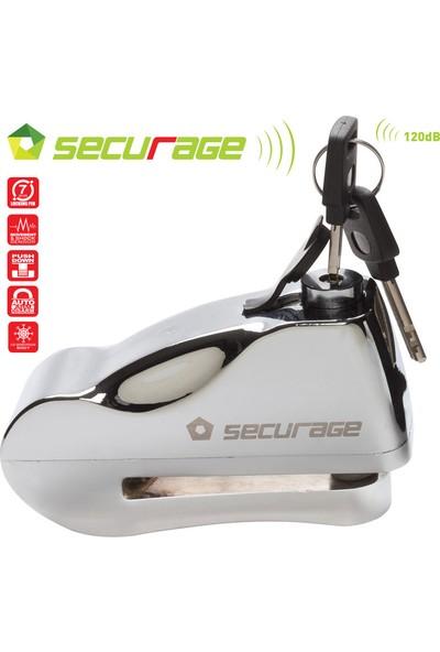 Securage Alarmlı Disk Kilidi