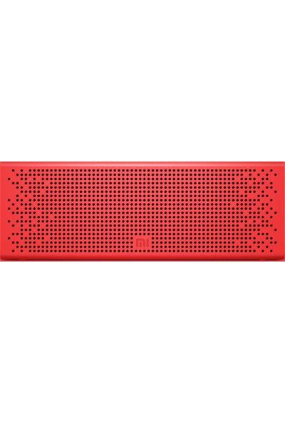 Xiaomi Bluetooth Hoparlör Kırmızı (Aux ve Bluetooth Destekli)