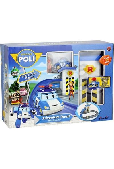 Silverlit Robocar Poli Macera İstasyonu Oyun Seti