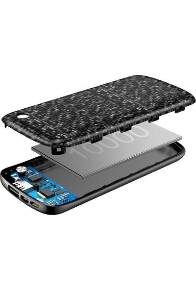 Baseus Plaid Power Bank 10000 mAh Lightning + Micro USB Powerbank