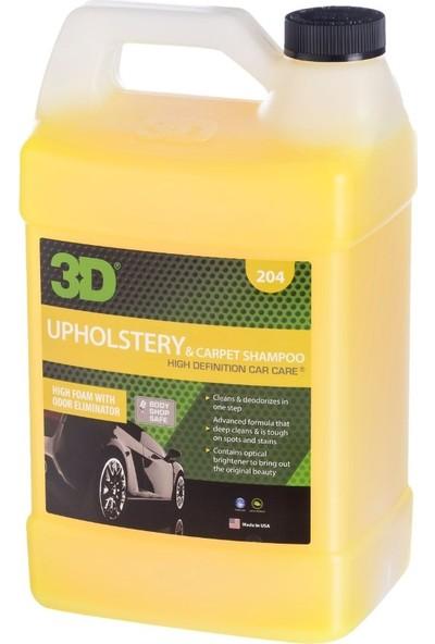3D Carpet Shampoo - Döşeme ve Halı Şampuanı 3.79 lt. 204G01