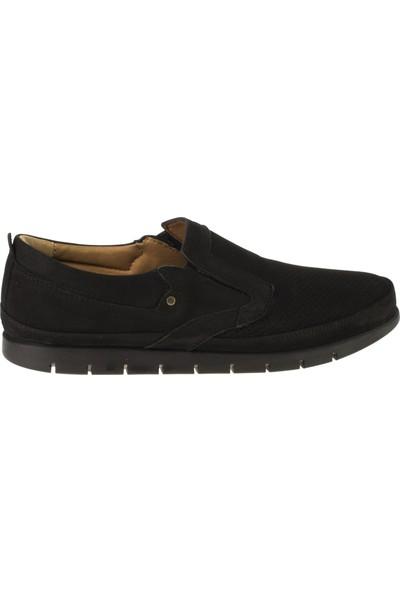 Bemsa 2034 Bağsiz Casual Siyah Erkek Ayakkabı