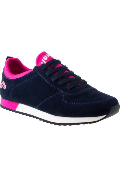 Jump 17539 Bağlı Lacivert Kadın Spor Ayakkabı