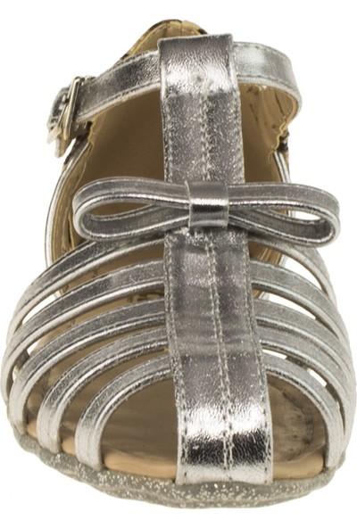 Vicco 921.18y.592 Tek Bant Gümüş Çocuk Sandalet