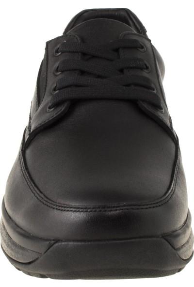 Joya Crusier İi Ortopedik Siyah Erkek Ayakkabı