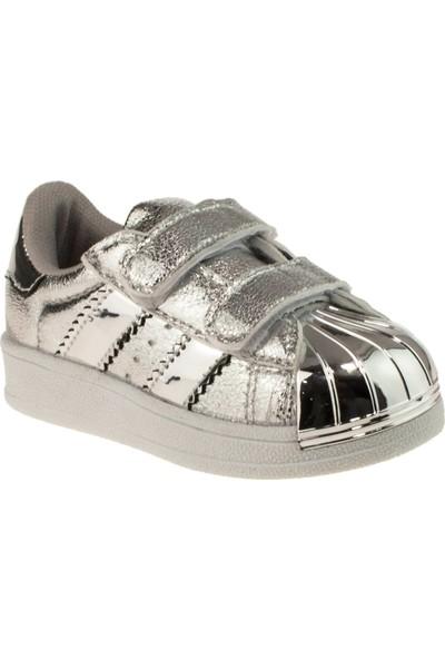 Flubber 22023 Bebe Gümüş Çocuk Spor Ayakkabı