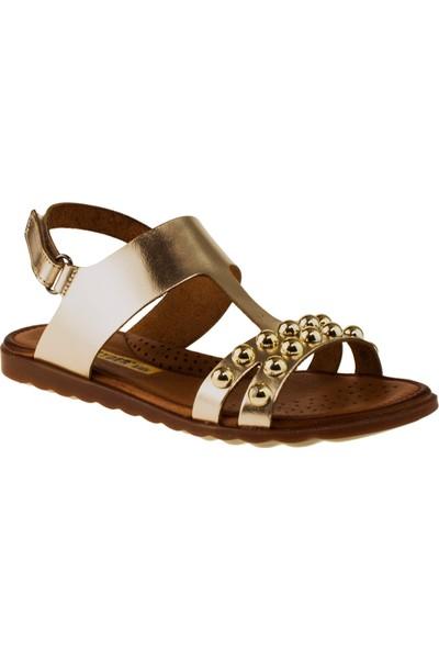 Greyder 97044 Filet Kız Altın Çocuk Sandalet