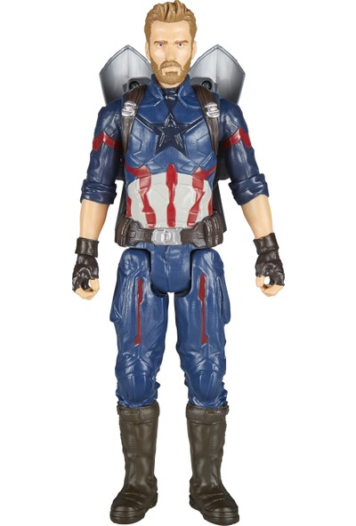Avengers Infinity War Titan Hero Power Fx Captain America Figür