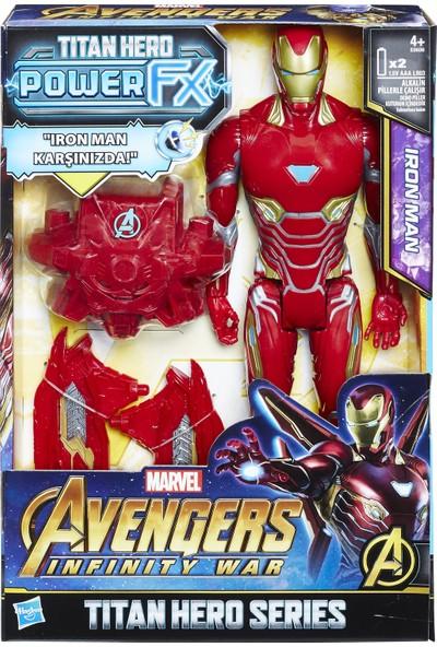Avengers Infinity War Titan Hero Power Fx Iron Man Figür 30 Cm