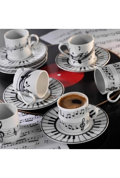 Kütahya Porselen Rüya Bitmeyen Senfoni Kahve Fincan Takımı