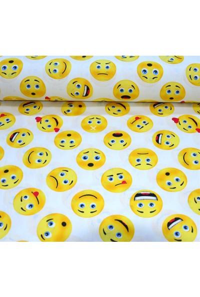 Wella Home Emoji %100 Pamuk Nevresimlik Poplin Kumaş