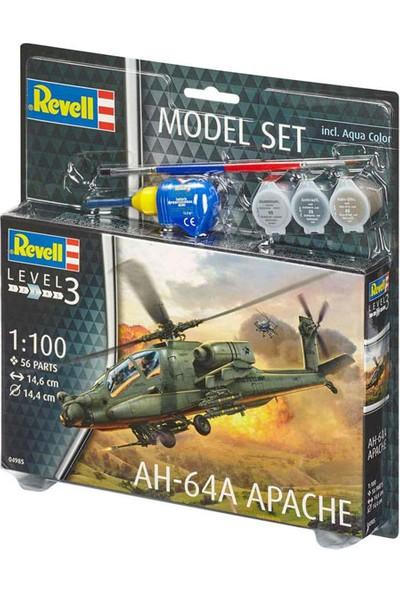 Revell Model Set Apache-64985 (Plastik Maket)