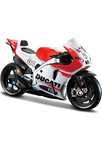 Maisto 1:18 2015 Ducati Desmosedici Motorsiklet MAY31588